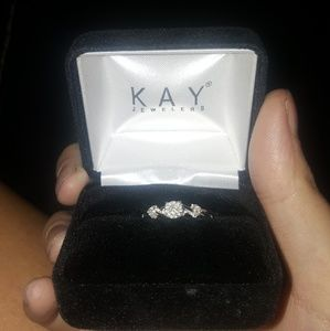 Beautiful kay jewelers sterling sliver ring